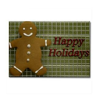 Happy Holidays Gingerbread Man  American Angst