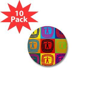 Occupational Therapy Pop Art Mini Button (10 pack)
