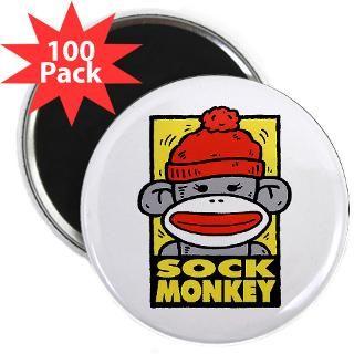 sock monkey 2 25 magnet 100 pack $ 114 99