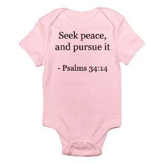 Christian Bible Verses Jesus Christ Psalm Psalms Baby Bodysuits  Buy