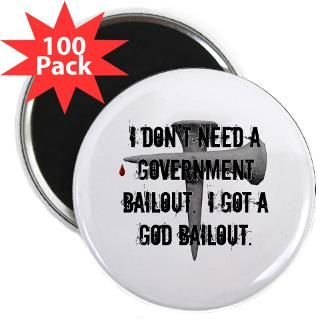 God Bailout T shirts & Gifts for Christians  All Five Stones