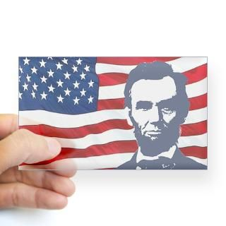 Abraham Lincoln Stickers  Car Bumper Stickers, Decals