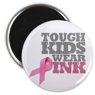 Tough Kids Wear Pink  Breast Cancer Awareness Tshirts & Gifts