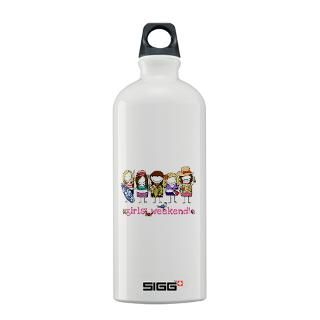Girls Weekend Water Bottles  Custom Girls Weekend SIGGs