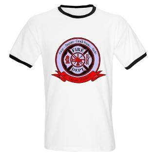 Funny Firefighter Gifts : My Real Heroes Shirts & Gifts