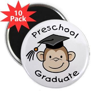 Monkey Preschool Graduate  Big Brother / Sister and new baby gifts