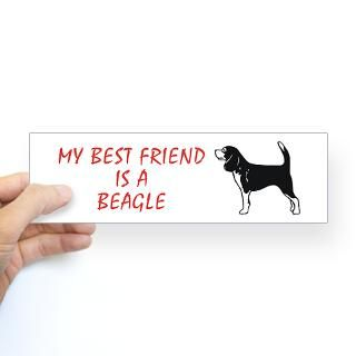 Hunting Beagle Stickers  Car Bumper Stickers, Decals