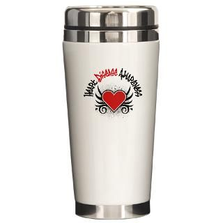 Heart Disease Awareness Tattoo Shirts & Gifts  Shop4Awareness Health