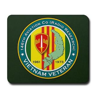 146th Aviation Co (Radio Research) Mousepad