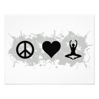 Yoga 4 invitation