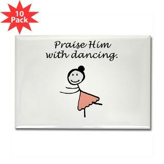 button $ 2 25 praise him with dancing rectangle magnet 100 pk $ 155 00