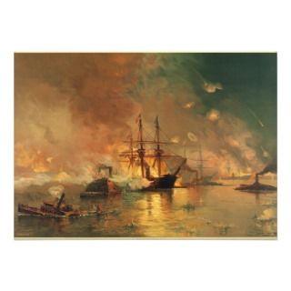 American Civil War Capture of New Orleans Invitation
