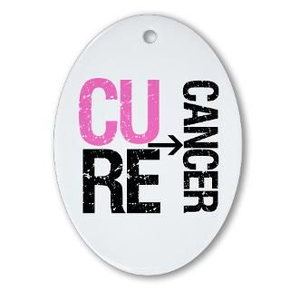Cure (Breast) Cancer Grunge Gear, Shirts & Gifts  Shirts 4 Cancer