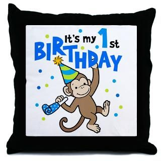 First Birthday   Monkey  Big Brother / Sister and new baby gifts
