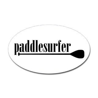 Stand Up Paddle Surfing Stickers  Car Bumper Stickers, Decals