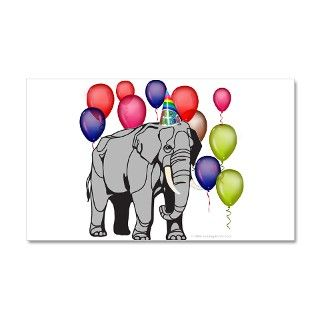 Birthday Gifts  Birthday Wall Decals  Elephant circus theme party