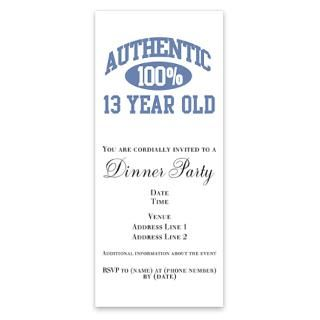 13 Year Old Birthday Invitations Invitation