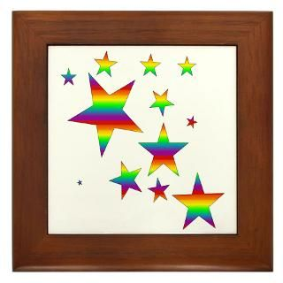 Framed Tiles  Lesbian & Gay Pride Gifts   Pride Events Wear