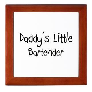 Bartender Keepsake Boxes  Bartender Memory Box