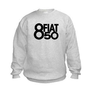Fiat 850 Spider Kids Sweatshirt for