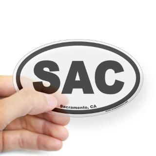 Sacramento Stickers  Car Bumper Stickers, Decals