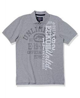 Ecko Unltd Shirt, Big Part Polo Shirt