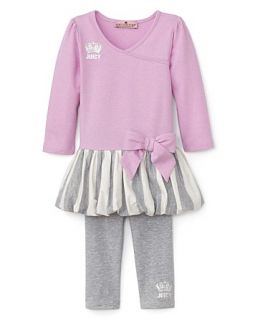 Couture Infant Girls Bubble Tunic & Leggings Set   Sizes 3 24 Months