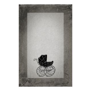 Gothic Baby Carriage Business Card Template