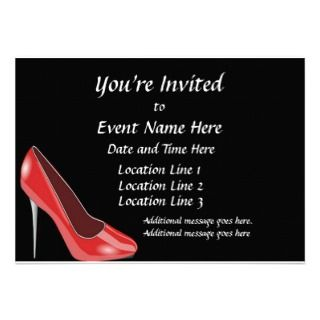 Custom Celebration of Life Invitations