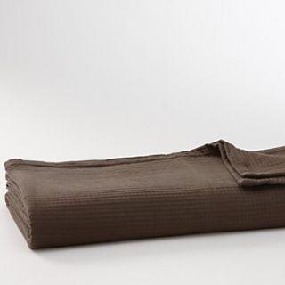 Vera Wang Ribbon Stripe Textured Rib Queen Bed Cover