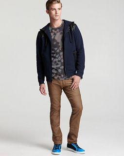 MARC BY MARC JACOBS Thompson Sweatshirt, Clement Camo Tee & Textured