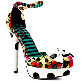 Iron Fists Multi Color Lounge Days Platform   White Multi for 69.99