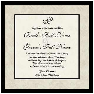 Impressionist Cream Pink Roses   Wedding Invites invitation