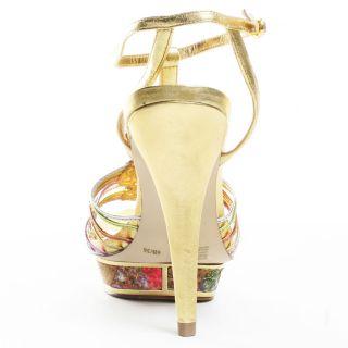 Debby Heel   Gold Multi, BCBGirls, $95.99