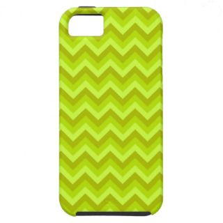 Lime Green Zig Zag Pattern. iPhone 5 Cases