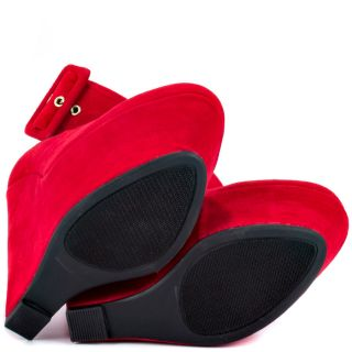 Shoe Republics Red Lynn   Red for 49.99