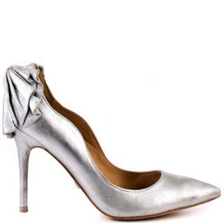 Badgley Mischkas Silver Wysdom   Silver Metallic for 234.99