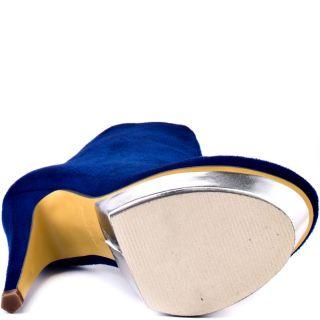 Michael Antonios Blue Musa   Blue Suede for 59.99