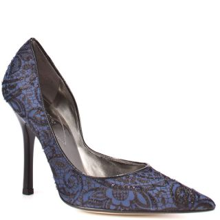 Carrielee 2   Blue Multi Fabric, Guess, $80.99