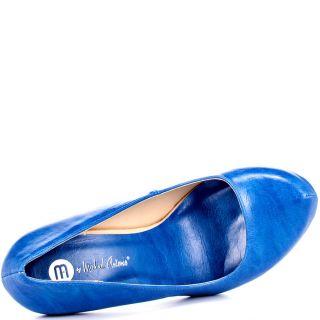 Michael Antonios Blue Love Me   Blue PU for 49.99