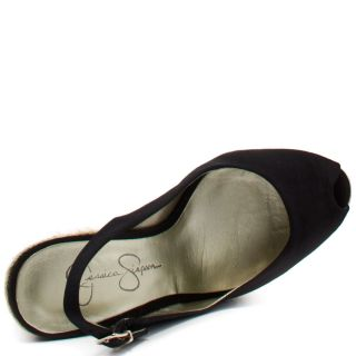 Jungle   Black Sateen, Jessica Simpson, $50.99