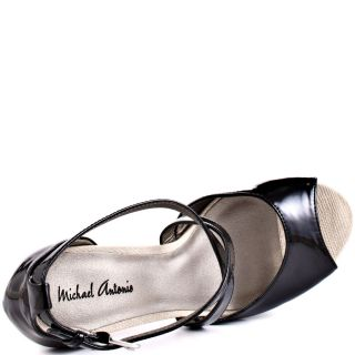 Michael Antonios Black Tanvir   Black Patent Pu for 69.99