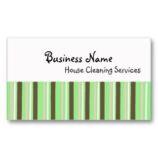 House Cleaning Business Cards, 406 House Cleaning Business Card