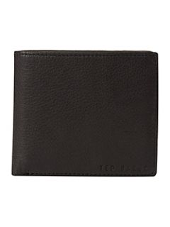 Ted Baker Logo stud wallet with coin pocket Black