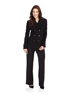 Precis Petite Black double breasted coat Black
