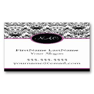 Classic Baroque Elegance Business Card