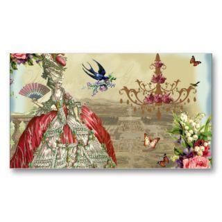 Souvenirs de Versailles Business Card