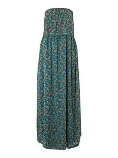 Sodamix Sodamix strapless maxi dress Blue