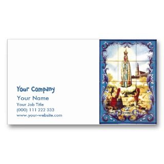 Our Lady of Fatima Business Card