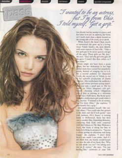 Katie Holmes Celebrity clippings Lot 1